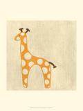 Best Friends - Giraffe Plakater af Chariklia Zarris