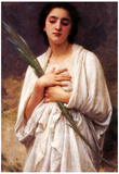William-Adolphe Bouguereau The Palm Leaf Art Print Poster Poster