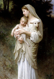 William-Adolphe Bouguereau Linnocence Art Print Poster Masterprint