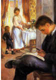 Pierre Auguste Renoir Breakfast at Berneval Art Print Poster Masterprint