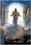 Second Coming Of Jesus Christ Art Print POSTER quality - Resim