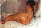 Vincent Van Gogh Female Nude Art Print Poster Prints