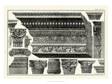 Cornice et Damiani Prints by Giovanni Battista Piranesi