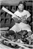 Roy Campanella and Equipment Archival Photo Sports Poster Print