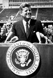 President John F Kennedy Speech Archival Photo Poster Masterprint