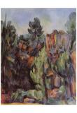 Paul Cezanne (Quarry near Bibémus) Art Poster Print Prints