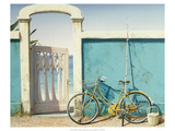 Beach Bike Giclee Print by D.k. Gifford