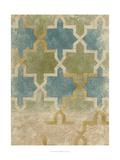 Non-Embellished Exotic Tile III Prints by Chariklia Zarris