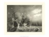 Ships at Sea I Poster