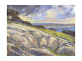 Rocky Coast I Giclee Print by H. Thomas