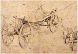 Peter Paul Rubens Two Farm Wagon Art Print Poster Prints