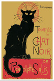 Theophile Steinlen (Tournee du Chat Noir) Art Poster Print Masterprint