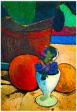Paula-Modersohn-Becker Still Life with Lemon, Orange and Tomato Art Print Poster Posters