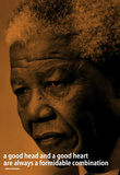 Nelson Mandela Quote iNspire Motivational Poster Masterprint