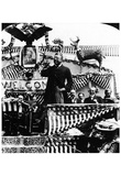 Theodore Roosevelt (Giving Campaign Speech) Art Poster Print Prints