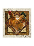 Mother Hen Prints by Janet Stever