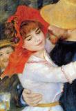 Pierre Auguste Renoir Dance in Bougival Detail Art Print Poster Masterprint