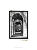 Parisian Archways I Posters by Laura Denardo