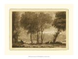 Claude Lorrain - Pastoral Landscape I - Art Print