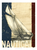 Vintage Tradewinds II Posters av Ethan Harper