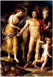 Raphael Perseus and Andromedar Art Print Poster Poster