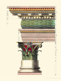 Printed Columns II Giclee Print by Vision Studio 