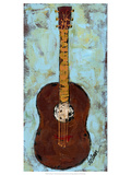 Six Strings IV Premium Giclee Print by Deann Hebert