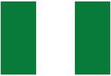 Nigeria National Flag Poster Print Plakat