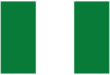 Nigeria National Flag Poster Print Kunstdruck