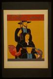 Pennsylvania (Amish Family, Vintage Ad) Art Poster Print Masterprint