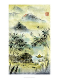 Having Visited Qui Baishi Poster by Nan Rae