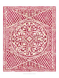 Chariklia Zarris - Woodcut in Red I - Reprodüksiyon