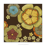Vibrant Sari II Prints by Erica J. Vess