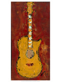 Six Strings V Giclee Print by Deann Hebert