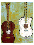 Six Strings I Premium Giclee Print by Deann Herbert