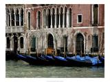 Venice Gondolas II Posters by Rachel Perry