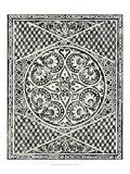 Chariklia Zarris - Woodcut in Black II Obrazy
