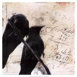 What Crows Reveal II Posters par Ingrid Blixt
