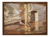 Coffee, Men, Chocolate Giclée-Druck von Lorraine Vail