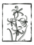 Non-embellished Sumi-e Floral III Posters by Ethan Harper
