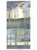 Non-Embellishd Nouveau Landscape II Giclee Print by Jennifer Goldberger