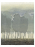 Treeline Haze II Prints