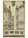 Vintage Gate II Poster