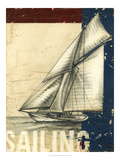 Vintage Tradewinds I Print by Ethan Harper