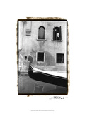 Graceful Gondola Print by Laura Denardo