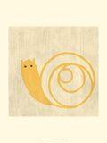 Best Friends - Snail Prints by Chariklia Zarris