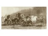 Horse Fair Print by Rosa Bonheur