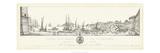 Antique Seaport II Poster par Antonio Aquaroni