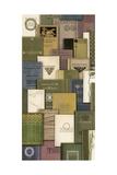 Literary Treasures I Premium Giclee Print by Kate Ward Thacker