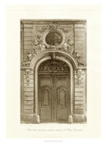 Ornamental Door I Giclee Print by Marcel Lambert